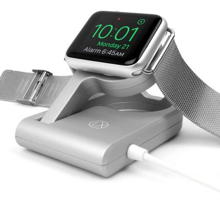 apple watch charger enables nightstand mode